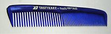 1960s TastyKake Cakes & Pies Ad Plastic Hair Comb Unused New NOS