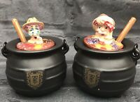 Ringtons Tea Explorers Cauldron Cannibals Preserve Jam Pots  Condiment Jars Fall