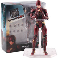DC Comics Justice League The Flash Mafex Medicom Toy PVC Action Figure Model Toy