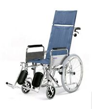 Roma 1710 Fully Reclining Self Propelled Wheelchair elevated legrests BRAND NEW