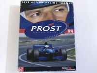 PC PROST GRAND PRIX Infogrames 1998 3+ (WIN 95 - CD-Rom) Racing BIG BOX RARE MS