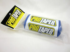 Pro Taper 2.0 Square Fat Bar Pad Blue / White for 1-1/8 Handlebar EXC YZF YZ WR