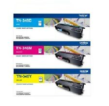 Any 3 Genuine Brother TN-346 Colour Toners TN346C TN346M TN346Y For L8250 L9550