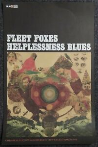 Fleet Foxes Helplessness Blues 2011 PROMO POSTER