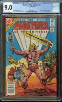 Masters of the Universe Comic #1 (1982) CGC 9.0 White Pages Heman DC