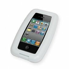 Aqua White Waterproof Water Resistant Phone Case Cover for iPhone 4 4s and 5c