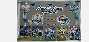 DALLAS COWBOYS Poster BACK TO BACK CHAMPS vintage 1994 Starline Poster RARE
