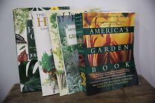 Gardening Books Lot of 5 Books  Groundcovers Indoor America's Garden Herbs
