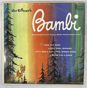 Walt Disney's Bambi & Mary Poppins Original Motion Picture Sound Track Vinyl