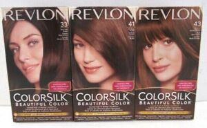 NEW Revlon Colorsilk Beautiful Hair Color - 3 Different Colors 2 Boxes Per order