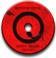 QUEENS OF THE STONE AGE ROCK GUITAR TAB TABLATURE SONG BOOK SOFTWARE CD
