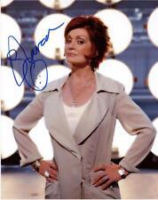 "Sharon Osborne - Colour 10""x 8"" Signed 'X-Factor Pose' Photo - UACC RD223"