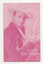 Ray Corrigan 1940's 1950's Cowboy Red Salutations Exhibit Arcade Card