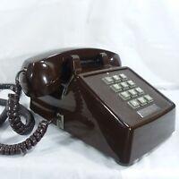 Telephone Premier Telecom Touch Tone VTG Brown Desk or Tabletop  Model #  2500