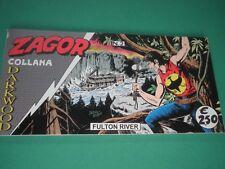 """ZAGOR N 2 Striscia Collana Darkwood """"FULTON RIVER"""""""