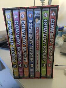 Cowboy Bebop Complete Volume 1 - 6 DVD Set + Movie - 7 Discs Region 4