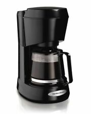 Hamilton Beach Coffee Maker with Glass Carafe 5-Cup #48136 Black-NEW