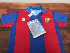 BARCELONA DIEGO MARADONA SHIRT 1982 Size Small with a Gift DVD Heroes