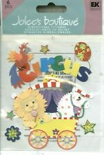 CIRCUS Animal Car Tent Lions Horses Acts Tricks Jolee's Stickers
