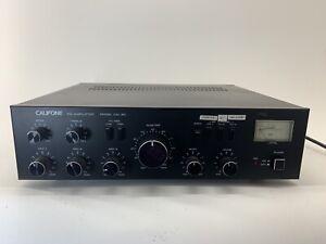 Vintage Califone International PA Amplifier CAL-60 3 Channel 2 Aux