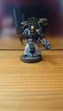 Sorcerer Thousand Sons Chaos Space Marines 40k Warhammer Painted metal miniature
