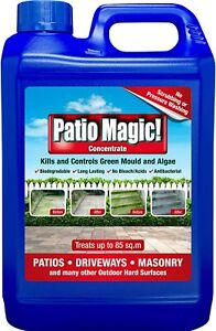 Patio Magic! Concentrate: Ideal for Patios, Paths and Driveways 2.5L