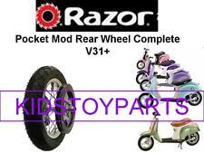 New! Bella Razor Pocket Mod Rear Wheel Assembly Complete Wheel, V31+