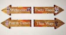 Lol Doll Surprise Birthday Party Props / Decorations Arrow Signs