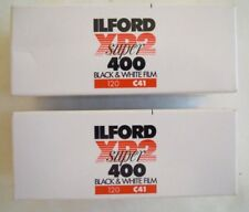 ILFORD XP2 ISO 400 B&W 2 ROLLS FILM DATED MARCH 2015