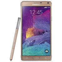 5.7-inch New Samsung Galaxy Note 4 SM-N910A - 32GB Smart phone (Unlocked)- GOLD