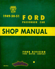 FORD SHOP MANUAL SERVICE REPAIR 1949 1951 1950 BOOK