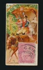 """1889 N85 Duke's Cigarettes POSTAGE STAMPS (""""Genuine Foreign"""") -Ye Olden Time"""