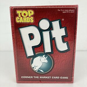 PIT Classic Family Fast Fun Commodity Trading Game 1996 Top Cards *NEW & SEALED*