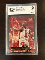 1996-97 Ultra Double Trouble #3 Michael Jordan SP BCCG 10 BGS PSA