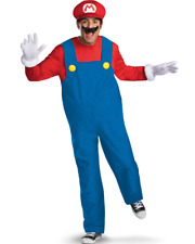 Super Mario Brothers Mario Deluxe Mens Costume