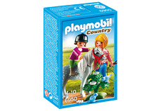 playmobil COUNTRY N ° 6950 Walk with Pony Mother, Child and small Horse