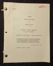 1989 WISEGUY Television Show Script Episode #306 Sins Of The Father FVF 56p