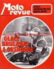MOTO REVUE 2063 AERMACCHI 125 R/C ; HONDA CB 350 Four XL 250 ; Speed Way 1972
