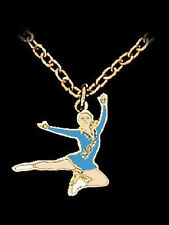 Leaping Ice Skater Necklace - GREAT ACTION DESIGN