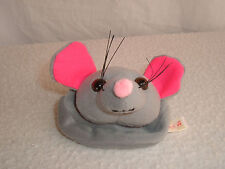 Rat or Mouse Face Keychain Coin Purse from Petrats