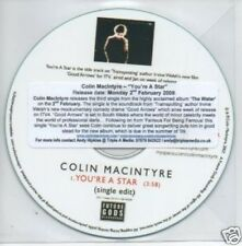 (535Q) Colin Macintyre, You're A Star - DJ CD