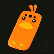 Samsung Galaxy S3 NEO i9300 Silikon Handy Case Schutz Hülle Etui Chicken Orange