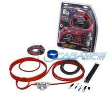 STINGER SK4681 8 GAUGE 4000 SERIES COMPLETE CAR STEREO AMP INSTALL WIRING KIT