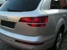 Audi Q7 Eyelids eyebrows REAR TAIL LIGHT light brows THICK ABS RARE -NEW eyelids