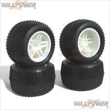 Hyper TT10 Complete Tire Set #11105 (RC-WillPower) Hobao 1:10 10TT TT-10 Truck