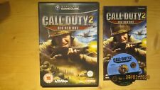 Call of Duty 2 Big Red One for Gamecube/Wii. Boxed with Manual. Pal