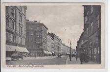 AK Wien III, Landstrasse Hauptstrasse, Geschäfte 1915