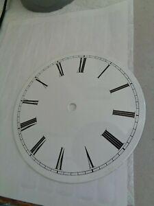 Vintage-Porcelain-Vienna Regulator Clock-Biedermeier One Piece Clock Dial-#E558