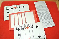 VINTAGE CLIP CARD MAGIC TRICK GREAT GIVE-AWAY FOR KIDS SHOW