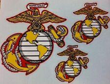 USMC  U.S. Marine Semper Fidelis Car Vinyl Decal / Sticker Combo 3 Decals